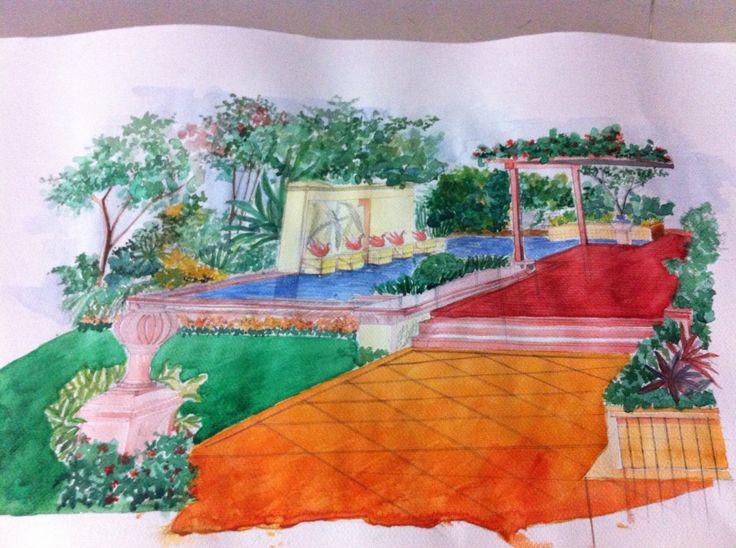 Garden copy color and tone