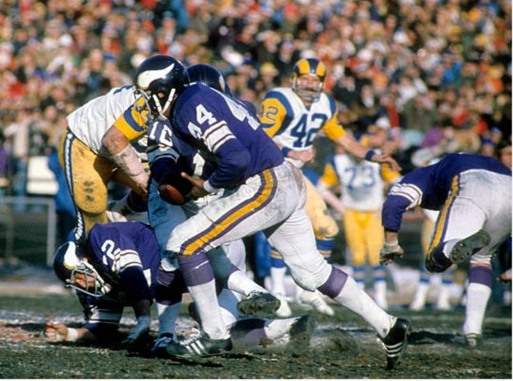 1976 NFC Championship Minnesota vikings, Football