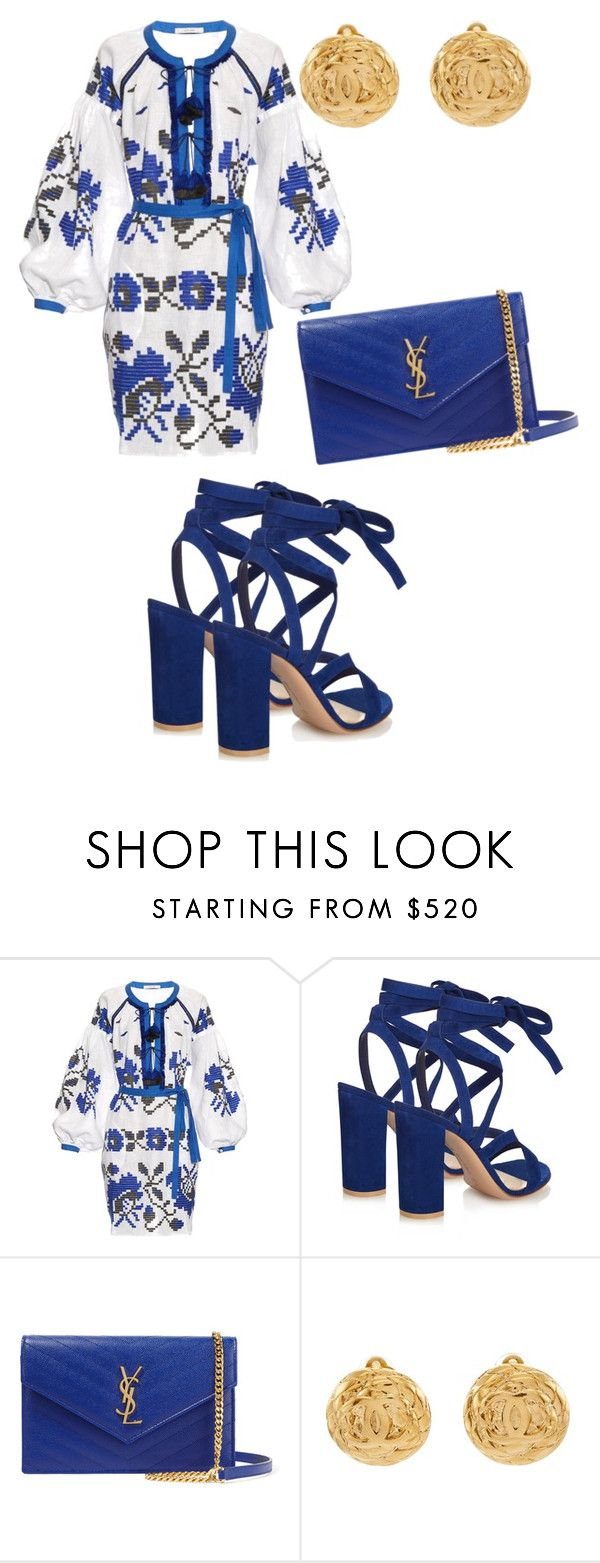 """""""So Ashley"""" by ashleydomenique ❤ liked on Polyvore featuring Vita Kin, Gianvito Rossi, Yves Saint Laurent and Chanel"""