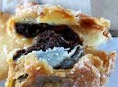 Chocolate Fried Pies Filling: ½ cup sugar 2 tablespoons cocoa powder 4 tablespoons butter ⅓ cup flour 1 cup evaporated milk 1 teaspoon vanilla Dough: 4 cups flour 4 tablespoons sugar pinch of salt 1 cup shortening 1 egg, well beaten 1 (12-ounce) can evaporated milk oil for frying Filling: Combine all ingredients in a …