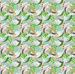 Tropical leaves pattern by artbynikitajariwala at zippi.co.uk
