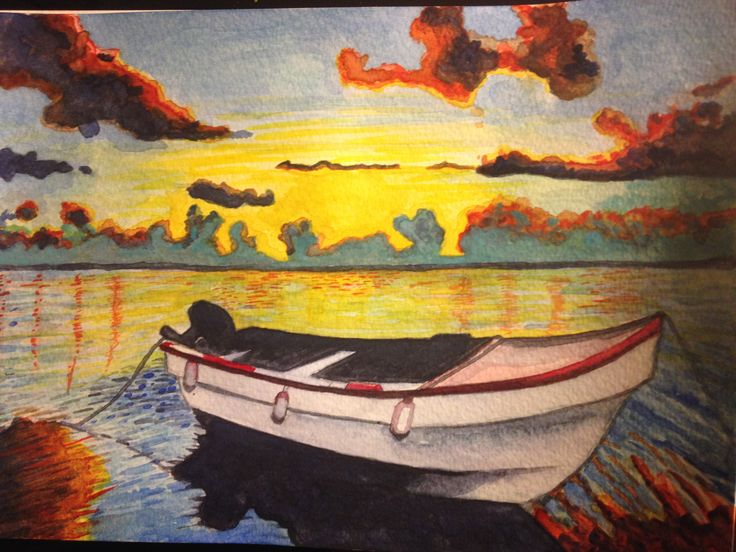 Learning Water Colours Barca  Imagen 3.