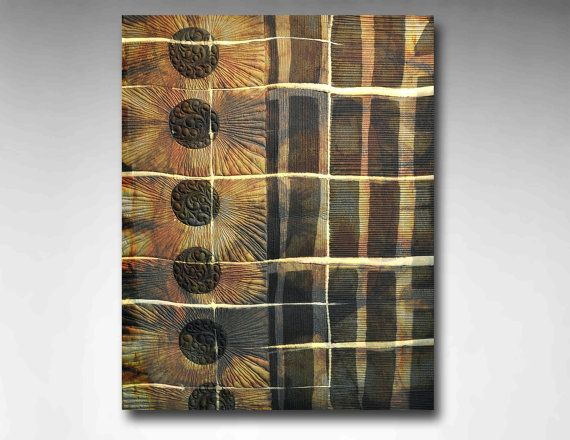 Here Comes the Sun...  Silk shibori quilted by MKStudioArtQuilts