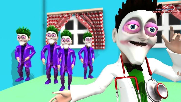 File Little Monkeys Jumping On the Bed with Joker and Spiderman. Educational Kids video