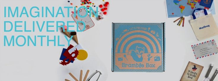 Bramble Box - Kids Subscription Box - Giveaway