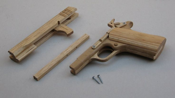 Free tutorial! Build a simple blowback rubber band gun
