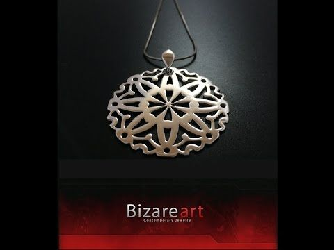 How to make a Mandala Pendant on Silver