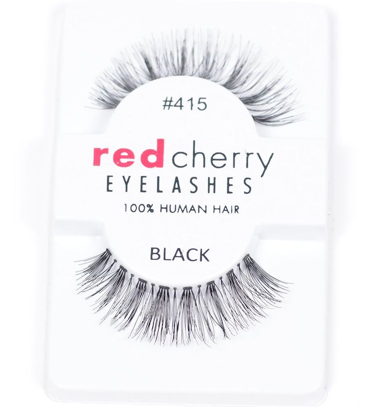 Red Cherry Eyelashes