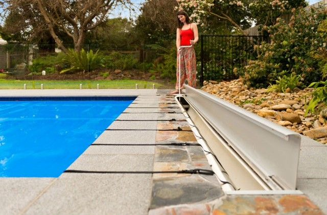 Sunbather Downunder Hidden Pool Cover Roller System. Hide your pool cover neatly and easily underground with our one person stand up wind system. http://www.sunbather.com.au/hidden-pool-covers/