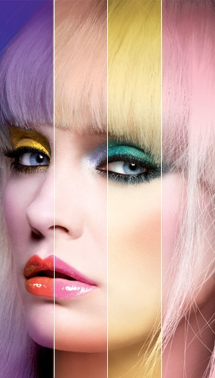 Legendary makeup artist, Francois Nars, pays a tribute to pop art pioneer, Andy Warhol,with the launch of a limited edition: Nars Andy Warhol Collection. This brialliant and imaginative photo shoot and makeup application really plays up the color and creativity the new collection etails! <3