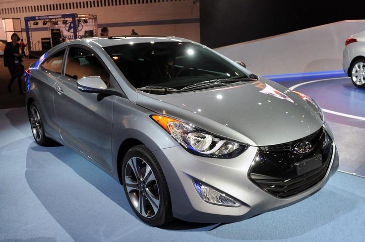 Hyundai Elantra Coupe 2013–года
