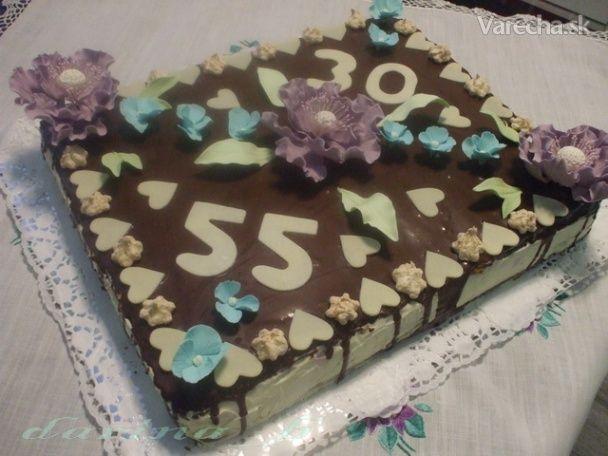 Kakaová torta s mascarpone krémom a ovocím (fotorecept) - Recept