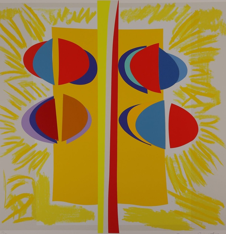 Carlyon Sunshine Silkscreen Print by Sir Terry Frost
