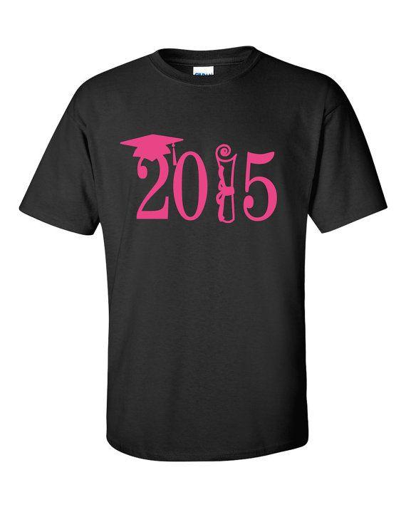 Class Of 2015 Shirt 2015 Personalized Class TShirt by VinylDezignz, $22.95
