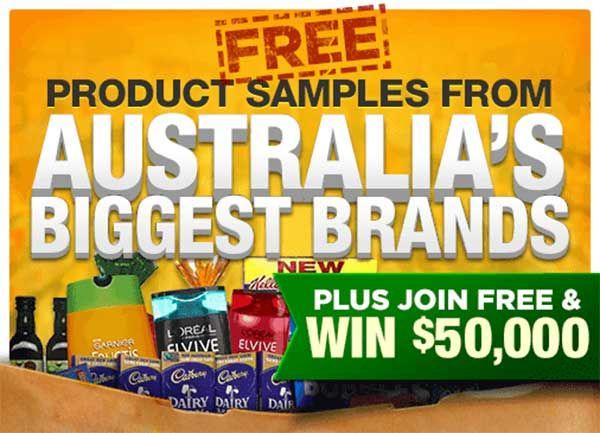 Free Sample Giveaway (Australia)  #FreeSamples #Giveaway #Australia #FreeProductSamples