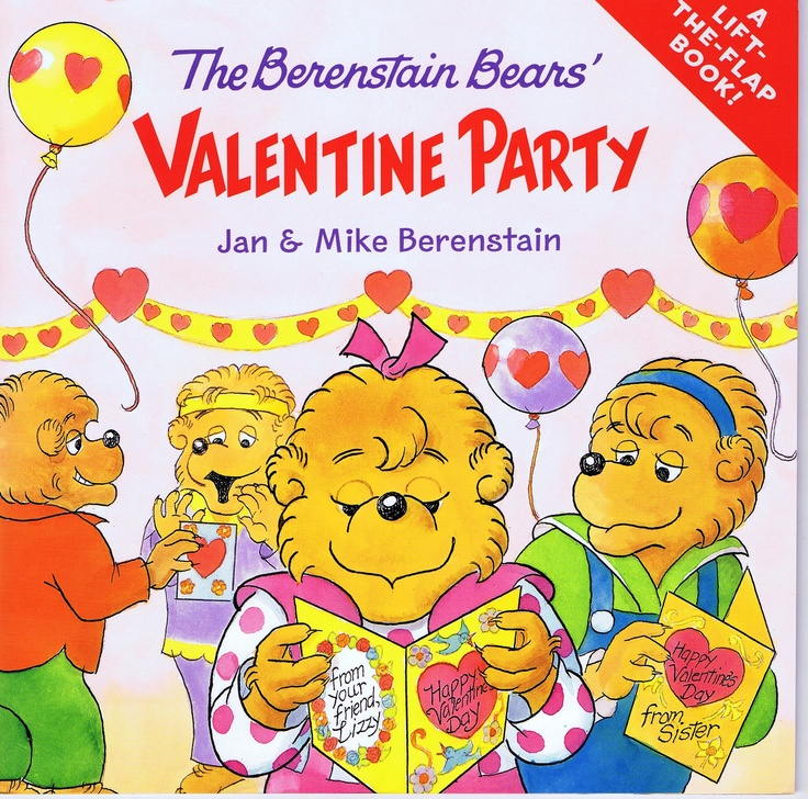 The Berenstain Bears' Valentine Party - a Lift-the-Flap Book