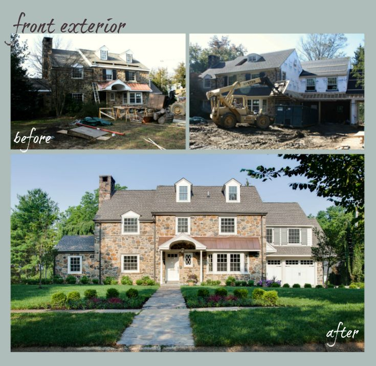 Best Beautiful Before  After Images On Pinterest Exterior - Home exterior remodeling before and after pictures