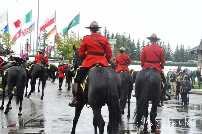 The RCMP Musical Ride, featured at the 2014 Spruce Meadows Masters. My Stable Life (Blog) www.westernhorsereview.com #MyStableLife, #westernhorsereview