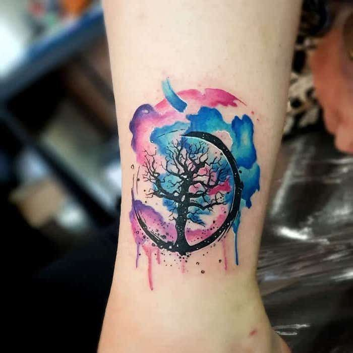 100 Most Beautiful Watercolor Tattoo Ideas Aquarell Tattoo