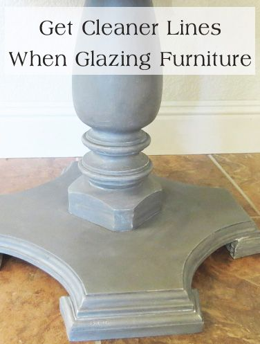 How to get cleaner lines when glazing furniture glazing for Furniture 0 interest