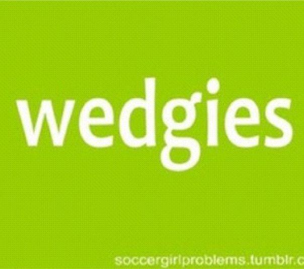 a soccer girl problem.