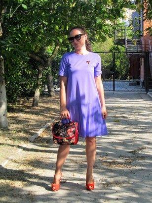Лиловое платье / Фотофорум / Burdastyle