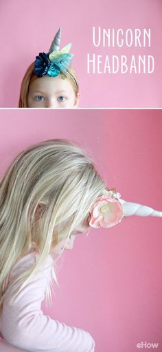 Let your inner unicorn run free with an easy-to-make DIY unicorn headband. Download the free unicorn horn sewing pattern and add some whimsy to your next craft session. These unicorn headbands make great party gifts, or make the perfect start to a handmade unicorn costume.  http://www.ehow.com/how_12343123_diy-unicorn-headband.html?utm_source=pinterest.com&utm_medium=referral&utm_content=freestyle&utm_campaign=fanpage
