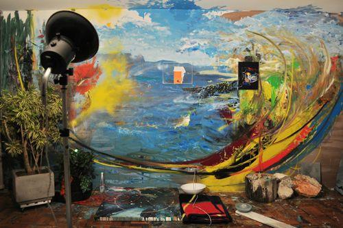 Expoiscao de arte Limiar em Curitiba