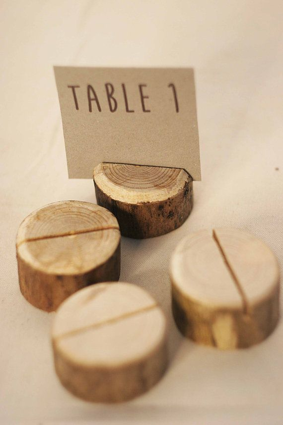1 pieces sample rustic place card holders Wedding by SnakeInChest, $0.99