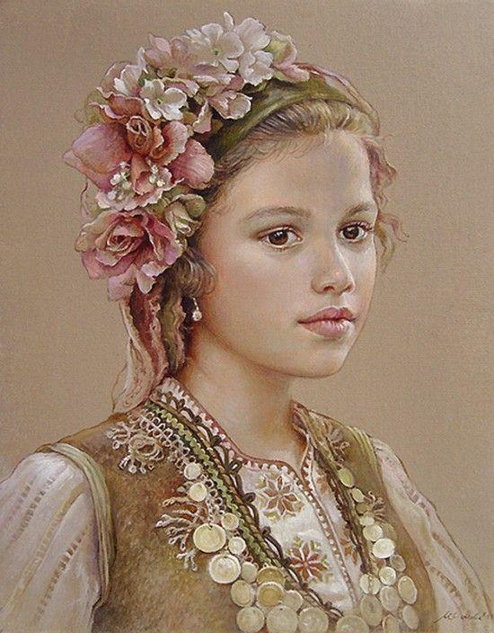 портреты художника Марины Илиевой - 10