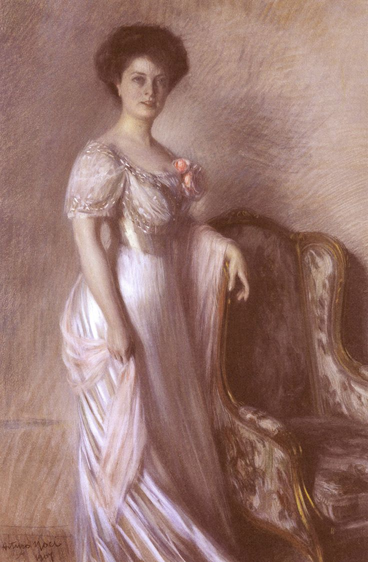 Arturo Noci, Ritratto della contessa Gianotti, 1907
