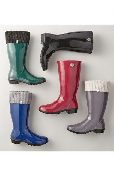 ba99e08886b How to Wear Womens Rain Boots   boots   Rain boots, Boots, Cowboy ...