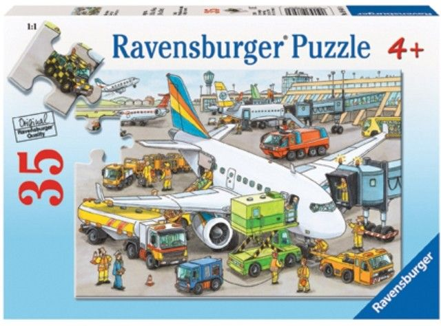 Ravensburger - Busy Airport 35-piece Puzzle  My child is obsessed with anything to do with an aeroplane. #EntropyWishlist #Pintowin