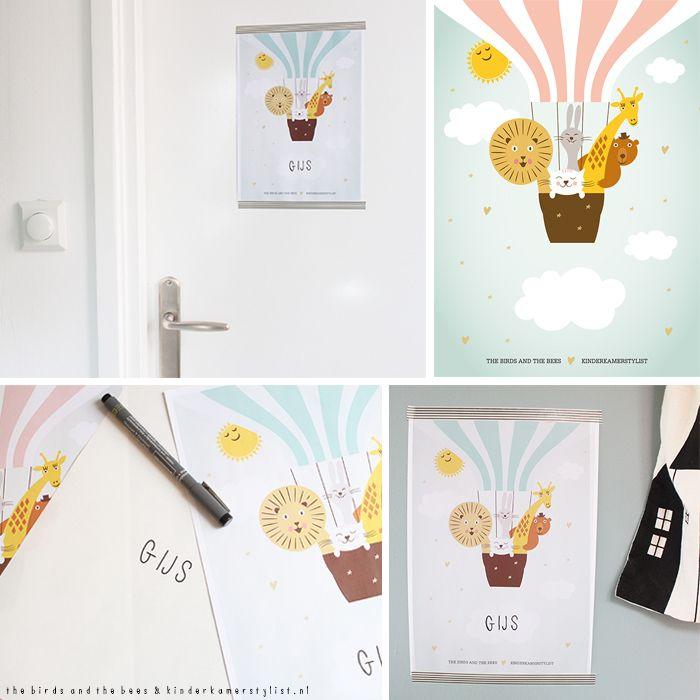 gratis deurposters babykamer