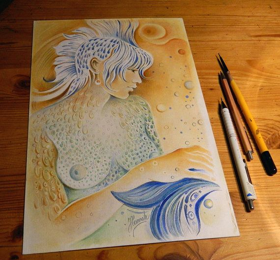 """THE PISCES"" - Protective Angel for Zodiac Sign"