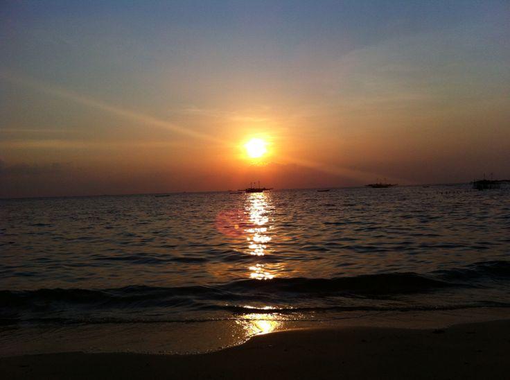 Sunset at Tanjung Berahu, Belitung, Indonesia