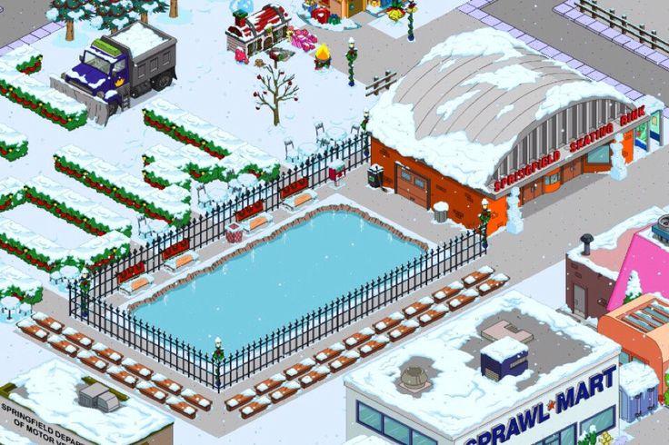 Springfield Skating Rink and outside skate rink