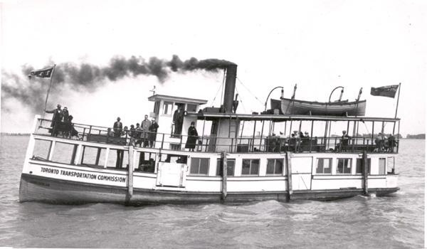 John Hanlan, Toronto Transportation Ferry, Great Lakes Ship, Built 1884