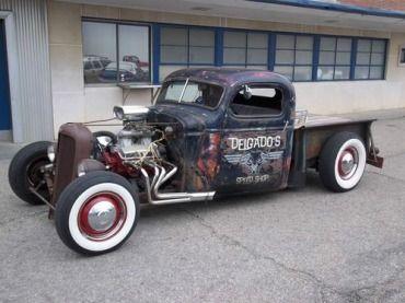 rat rod truck ,rat rod ,truck, image 1