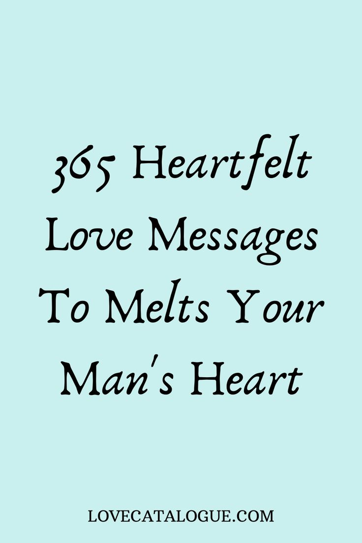 Pin on love messages