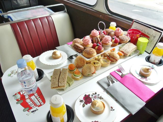 Victoria's Vintage . London Afternoon Tea Bus Tour ♥ .