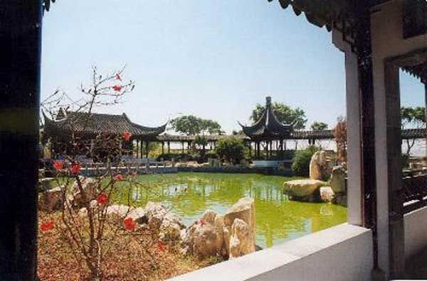 51 Chinese Garden in Santa Lucija and our final destination