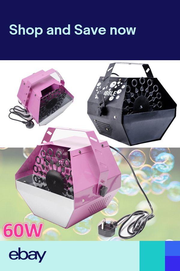 60W Electric Bubble Blower Maker Bubble Machine DJ Disco Club Party Wedding Gift