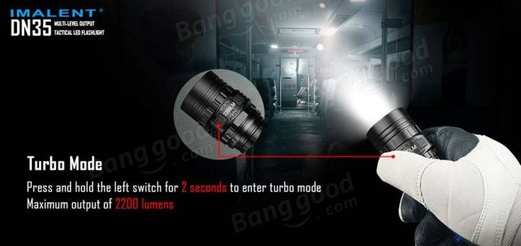 IMALENT DN35 XHP35 HI 2200LM 26650 USB Rechargeable LED Flashlight