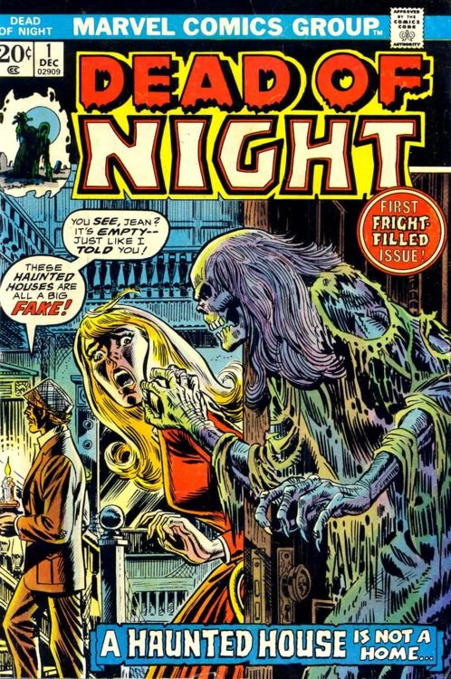 Dead of Night: Comicdeadofnight03 Comic, Books Covers, Favorite Comic, Horror Comic, Vintage Horror, Marvel Comic, Comic Books, Comic Covers, Vintage Comic