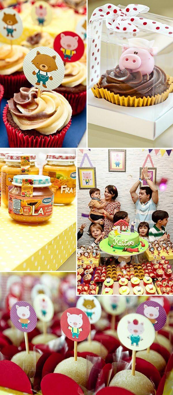 Festa dos Três Porquinhos: Feast Of, Details, Festa Três Porquinhos, Children'S Parties