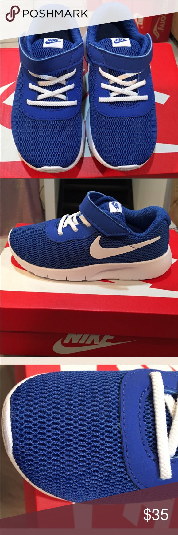 Nike Boys Tanjun Sneaker Blue size 10 My personal favorite color of blue from Nike...boys size 10. (They run a bit small) One of our best.🌟🌟🌟🌟🌟🌟🌟🌟🌟🌟🌟🌟🌟🌟🌟🌟🌟🌟 Nike Shoes Sneakers