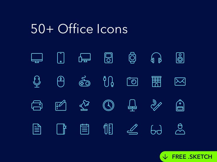 Office Icons by Denis Rodchenko