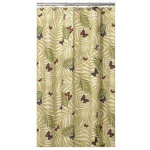 Bora Shower Curtain With Bonus Hooks