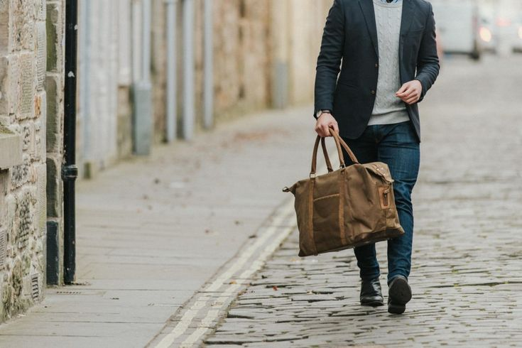New! Waxed Canvas and Leather Holdall | by Scaramanga | http://www.scaramangashop.co.uk/Fashion-and-Furniture-Blog/new-waxed-canvas-leather-holdall-scaramanga/
